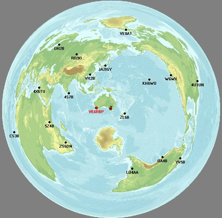 Faros azimuthal map centered on melbourne australia faros azimuthal map centred on melbourne australia gumiabroncs Images